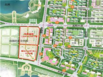 新城区仨地块挂牌出让,这个片区要热