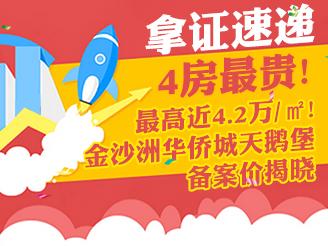 最高4.2万/㎡!华侨城天鹅堡备案价揭晓